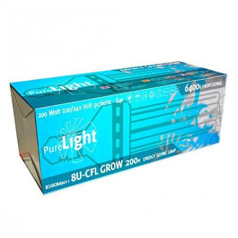 BOMBILLA PURE LIGHT CFL 200W GROW 6400K (CRECIEMIENTO)