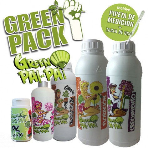 GREEN PACK KIT FERTILIZANTES GREEN PAI PAI-31