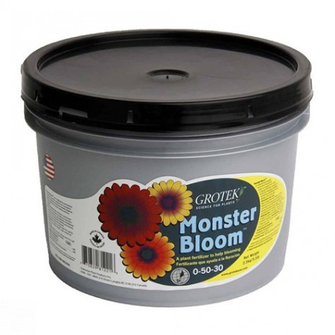 FERTILIZANTE MONSTER BLOOM 10KG GROTEK