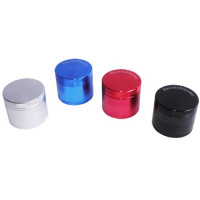 GRINDER SECRET SMOKE 40MM 4 PARTES (NEGRO,AZUL,ROJO,PLATA)