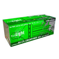 BOMBILLA PURE LIGHT CFL 200 W GREENPOWER 2700K-6400K (CRECI/FLORA)