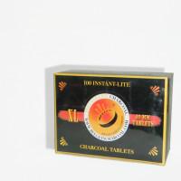 CARBON PARA SHISHAS 100 PASTILLAS DE 40MM EN BLISTER DE 10UNDS XL-23