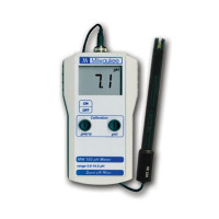MEDIDOR DE PH MW100 MILWAUKEE CON SONDA-27