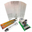 KIT 600W BALASTRO PURE LIGHT ABIERTO + Pure Light HPS + Reflector estuco